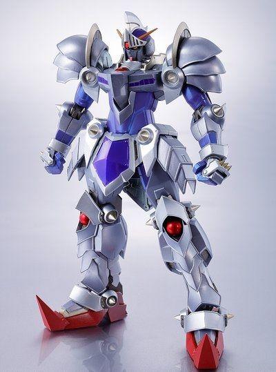 METAL ROBOT魂 騎士ガンダム(リアルタイプVer.) SDガンダムを代表する人気キャラクター「騎士ガンダム」が、リアルタイプVer.となり、METAL ROBOT魂にラインナップ! 関節だけでなく外装の一部にダイキャストを使用。重量感と質感を高めている。 外装の銀色は彩色にて再現。複数の色味を使い分けることで、高級感のある仕上がりとなっている。 登場作品 SDガンダム外伝 主な商品内容 ・本体 ・交換用手首左右各3種 ・ナイトソード ・ナイトシールド ・電磁スピア ・マントパーツ一式 ・専用台座一式 主な商品素材 ABS、PVC、ダイキャスト 商品サイズ 全高約130mm 対象年齢 15歳~ 備考 お買い求めの前に:必ずお読みください。 ※実際の商品とは多少異なる場合があります。 ※彩色などの外観は、商品個々で多少のバラツキが生じる場合があります。 ※商品仕様や発送日は予告なく変更になる場合があります。 ※予定数に達した時点で、ご注文の受付を終了させていただく場合があります。 また、ご要望が多数の場合は、再度受注を行う場合があります。…