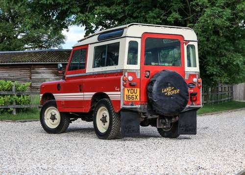 1982 Land Rover Series III 88 Country For Sale by Auction