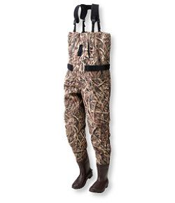 For Brett, $290 LLBean: Men's Bean's Waterfowler Pro Waders with SuperSeam Technology, Boot-Foot