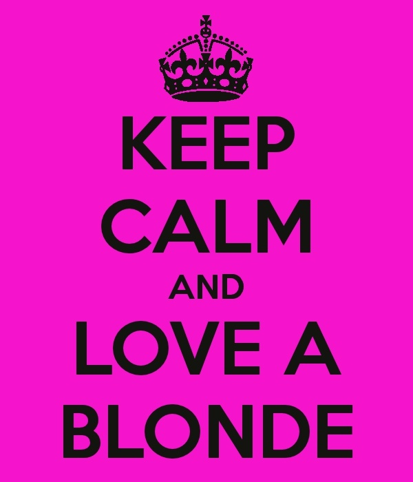 Blondes are best