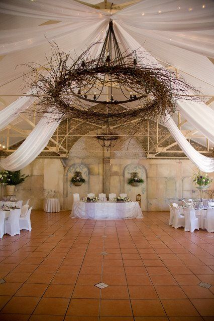 Draping to compliment the theme