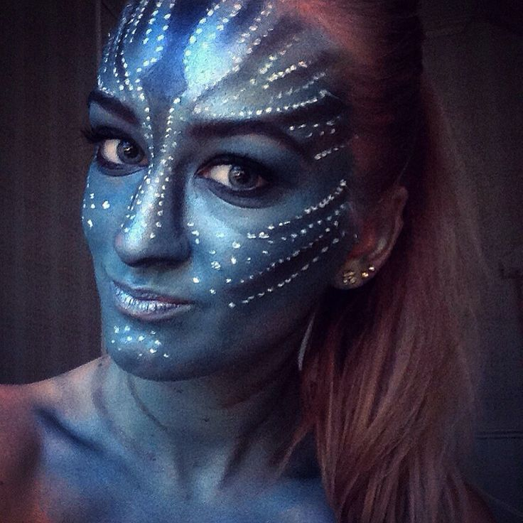 Costume Make-Up AVATAR! Make-Up by me