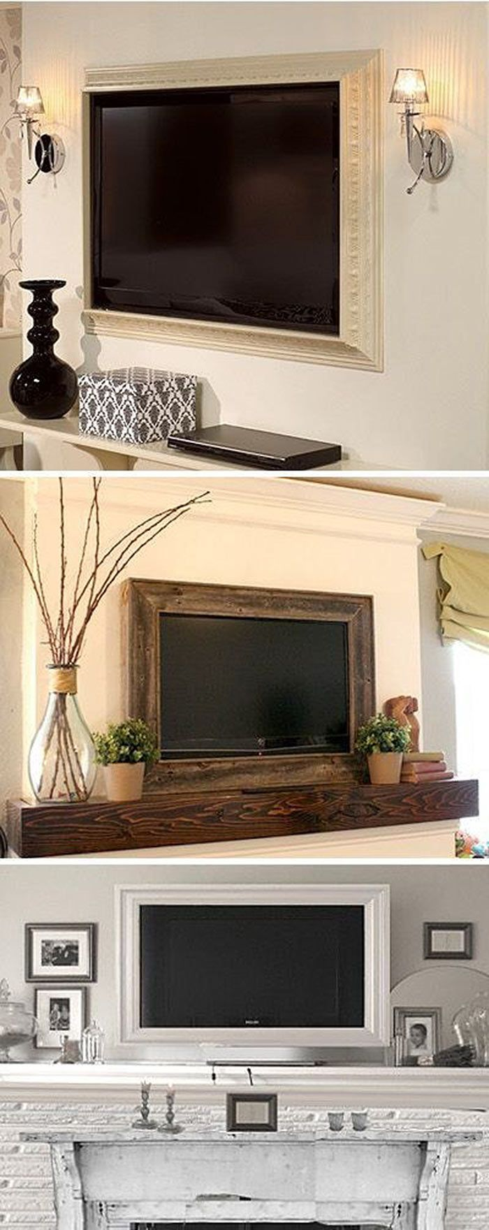 Christmas mantel decorations under tv - Christmas Mantel Decorations Under Tv 58