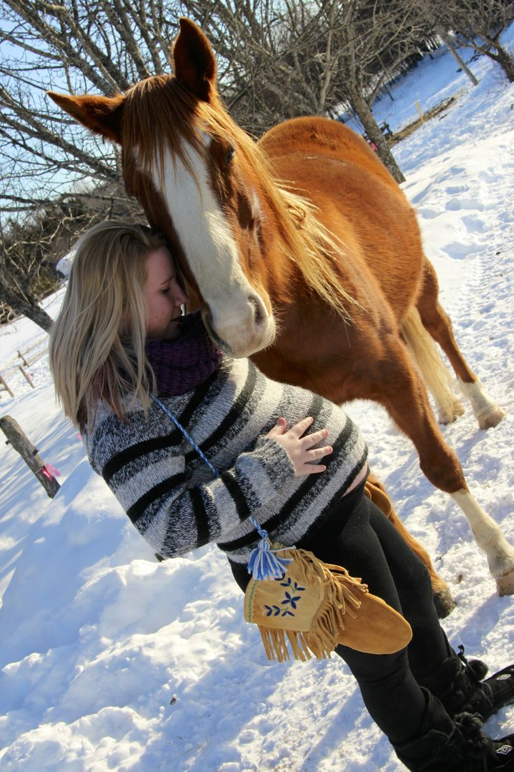 More baby love; the horse does;t want to be excluded!