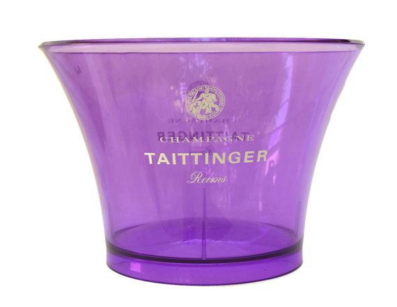 Taittinger Champagne Cooler. Vintage French by LeBonheurDuJour