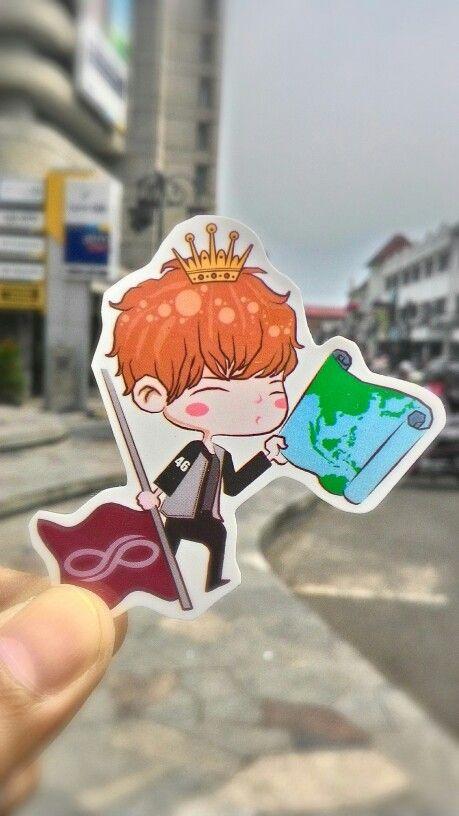 Gyunim... sticker cut by yourself