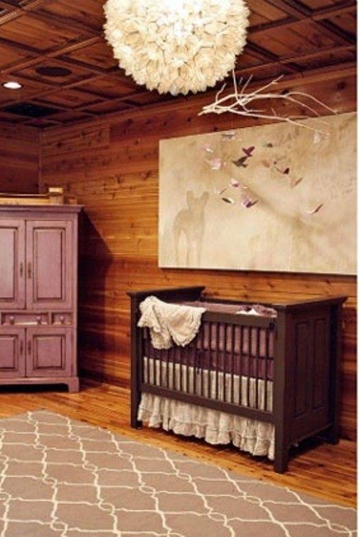 Cozy Wood Cabin Nursery Design Ideas | Kidsomania