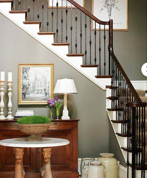 Foyer Stairs Utah : Best iron spindle for stairs images on pinterest