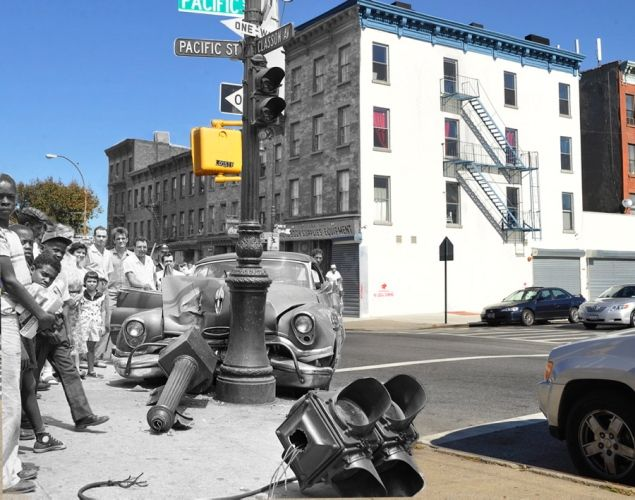 Marc Hermanndove-NYC streets