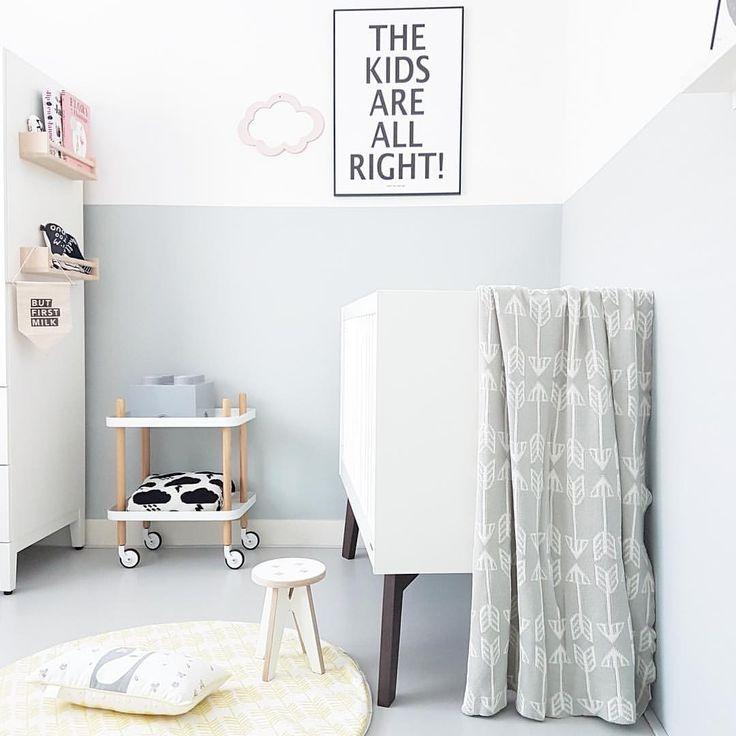 Minimal nursery, roomblush, kids stool, Scandi nursery