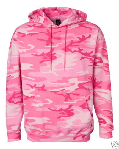 Womens-Camo-Camouflage-Hooded-Sweatshirt-Hoodie-Pink-Woodland-S-M-L-XL-2XL-3XL