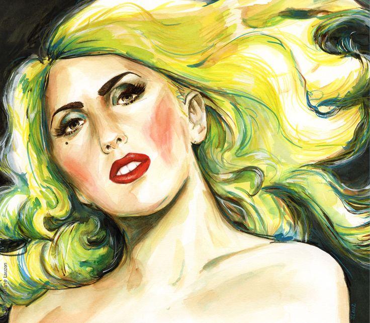 Lady Gaga par Stephane Lauzon