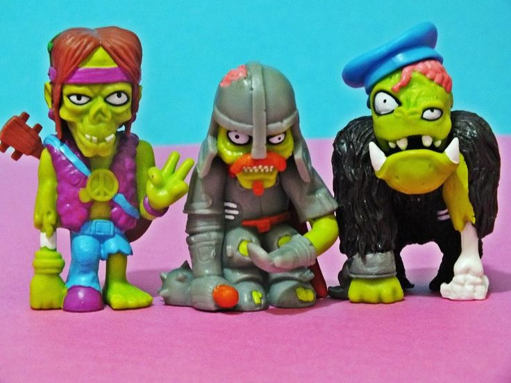 Zombiezz Series 2 Zombies are back.
