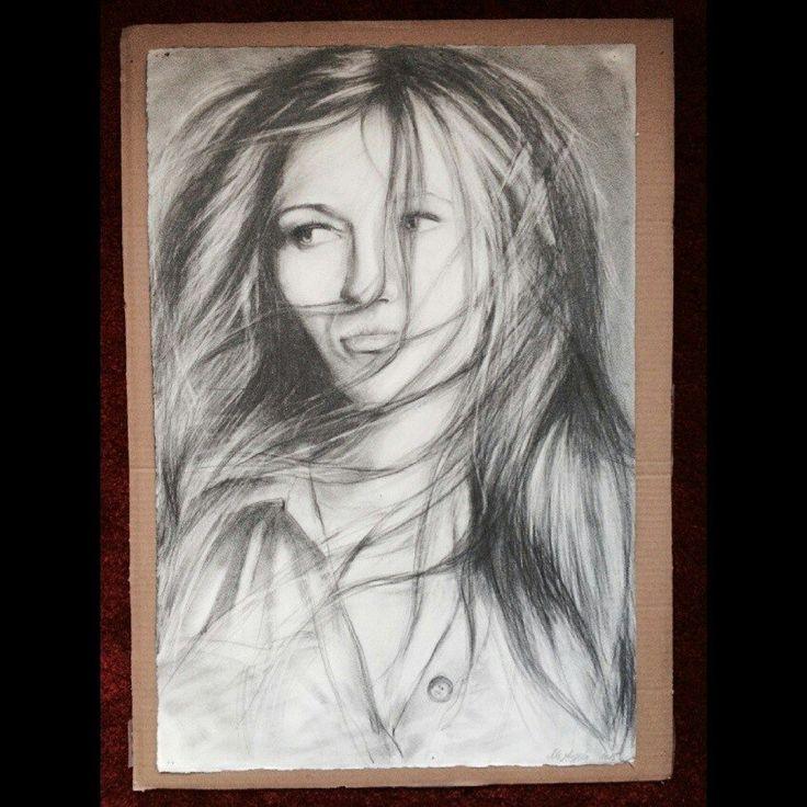 Art - portrait. Портрет Марины ко дню её рождения