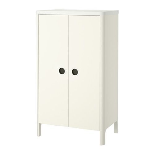 BUSUNGE Wardrobe IKEA You can adjust the height of the clothes rail and shelves as your child grows.