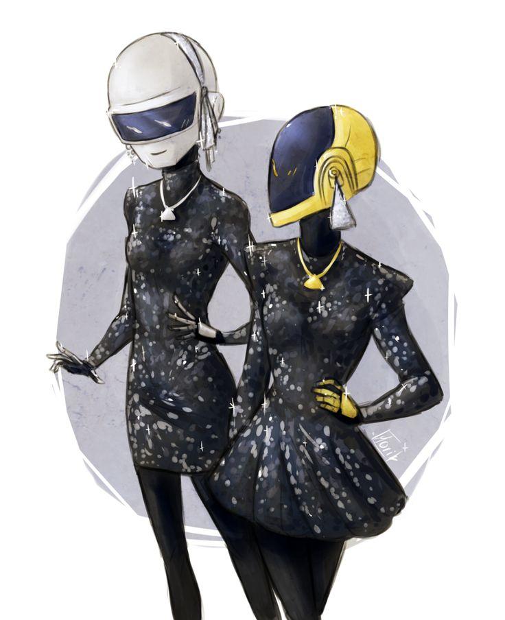 Daft Punk: RAM by Morisaurus.deviantart.com on @deviantART ...