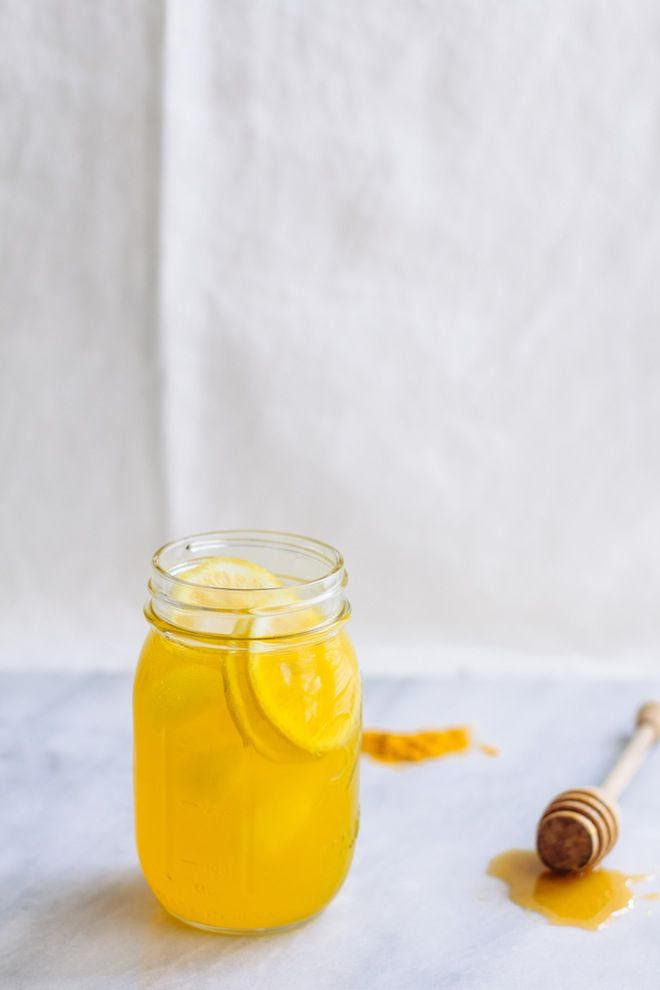 Cool and refreshing Iced Turmeric Tea - earthy, slightly sweet and packed with nutrients!