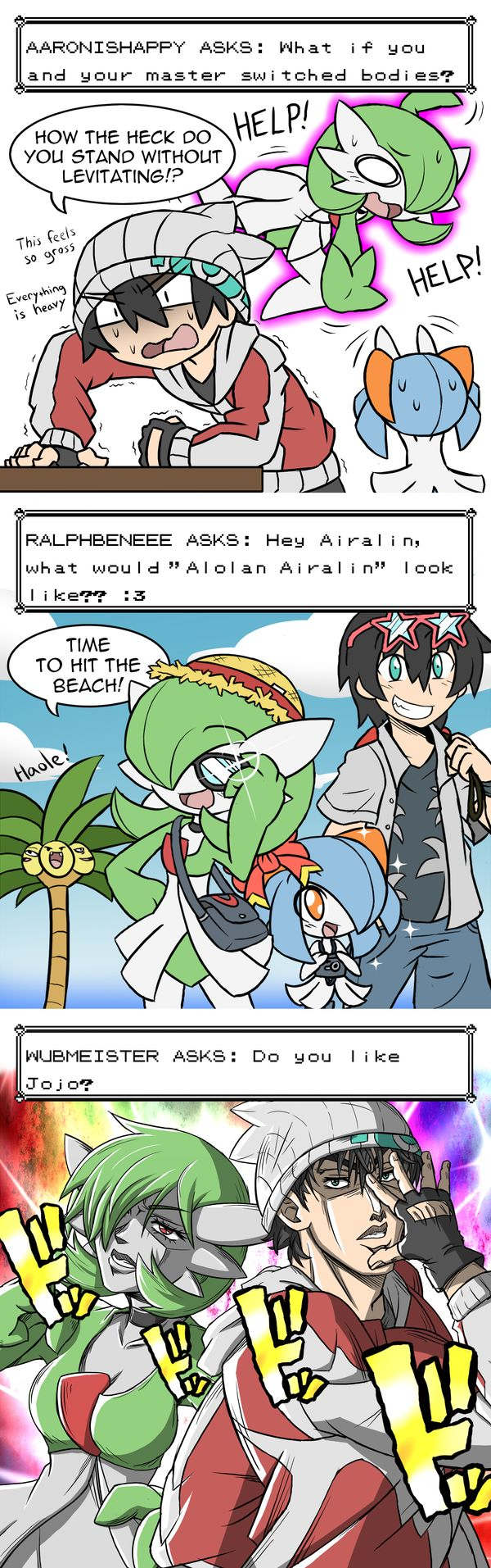 That last one lol... Oh yea if ur wondering wut Jojo is its an anime called Jojo's Bizarre Adventure