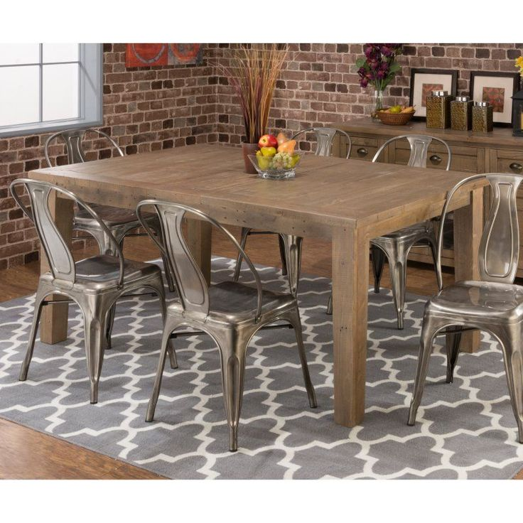 Best 25+ Rectangle dining table ideas on Pinterest | Custom dining ...