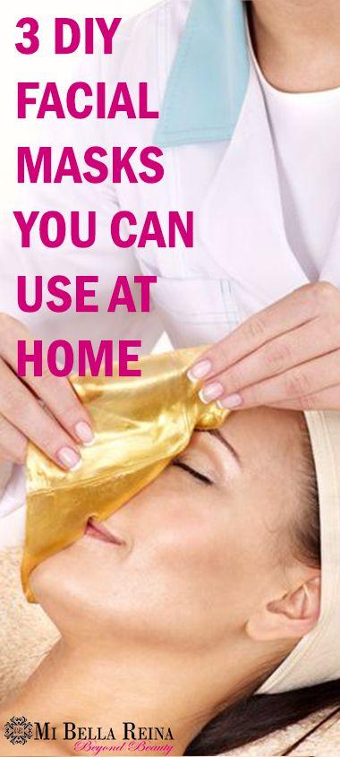 Best 25 facial diy ideas on pinterest face care skin mask and 3 diy facial masks you can do at home skincare facial spa solutioingenieria Choice Image