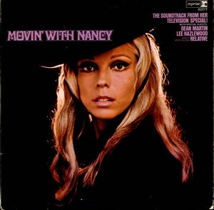 Nancy Sinatra MOVIN WITH NANCY LP record with DEAN MARTIN, FRANK SINATRA