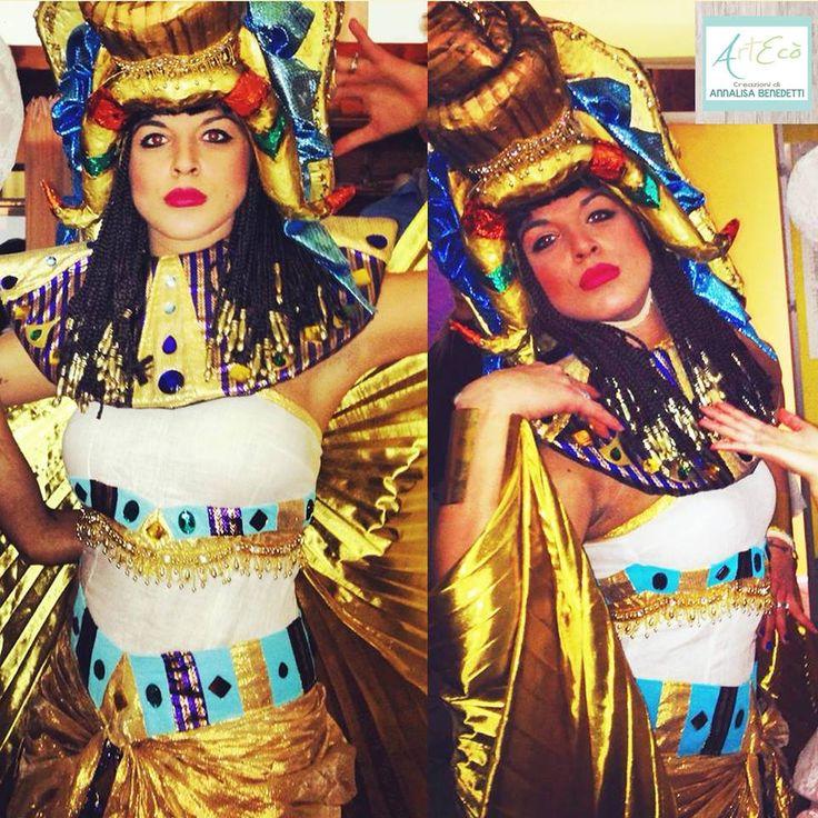 CLEOPATRA Style and Handmade By ArtEcò Creazioni di Annalisa Benedetti #artecocreazioni #annalisabenedetti #stylist #handmade #madeinitaly #art #theatercostume #costume #fantasy #fantasy #creative #cosplay #theater