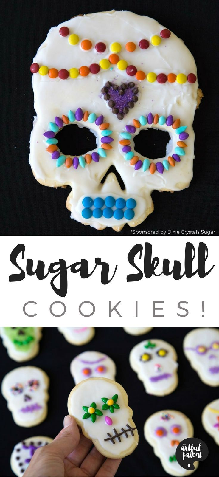 Sugar Skull Cookies The Easy Way With Kids 20 Must Follow Moms