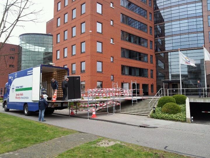 In- en extern verhuisproject Total EP ivm renovatie huisvesting Den Haag