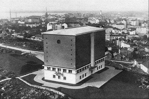 Vyborg water tower Väinö Keinänen, 1930 #architecture