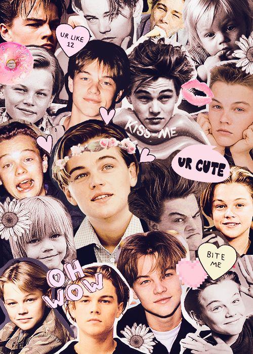 young leonardo dicaprio tumblr collage - Google Search