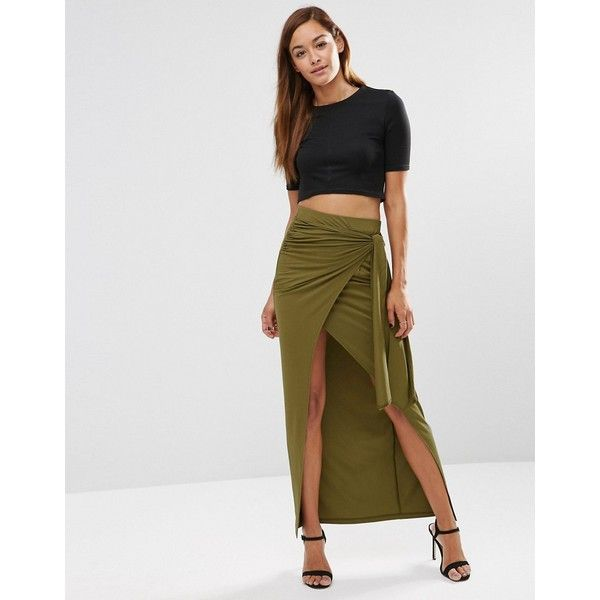 17 Best ideas about Long Khaki Skirt on Pinterest | Long jean ...