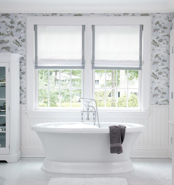 Bathroom Window Treatments 190 best window treatments images on pinterest | curtains, window