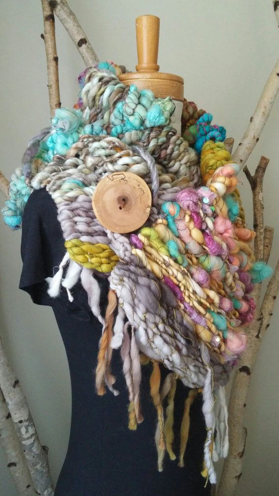 Woven Scarf No.4 by designsbyamber on Etsy