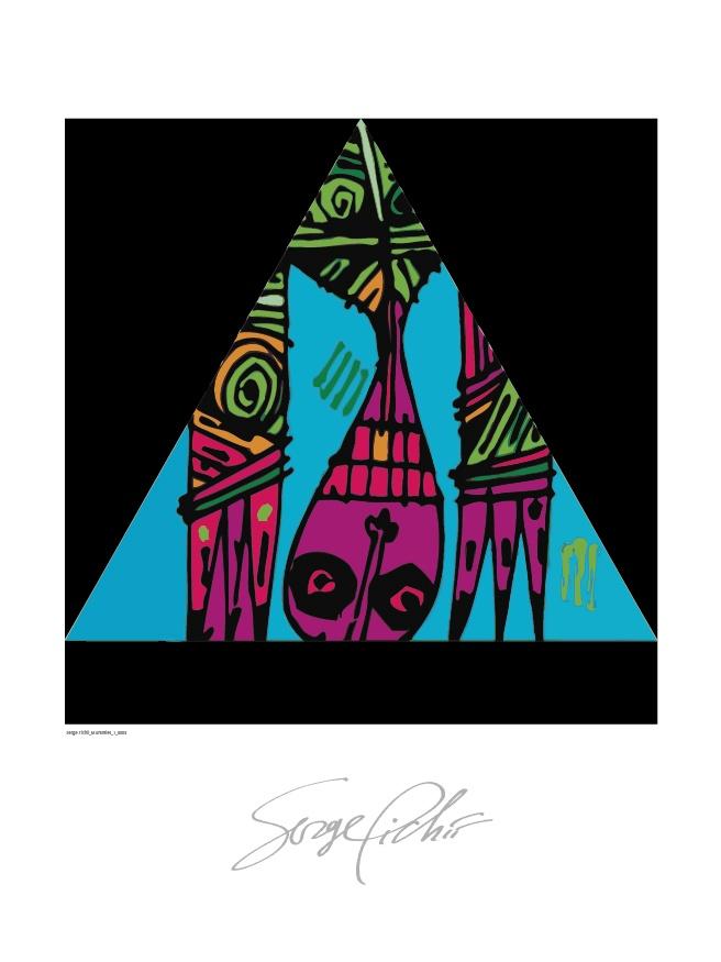 Serge Pichii | Drawings: Mummies I