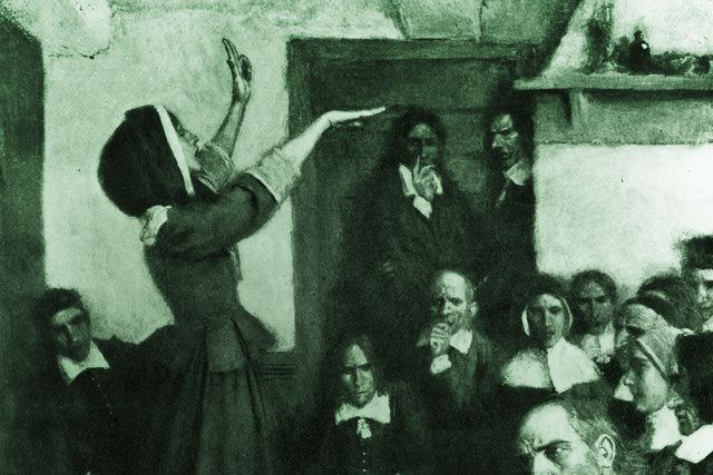 Quotes by Anne Hutchinson - part of an extensive collection of quotations by notable women.