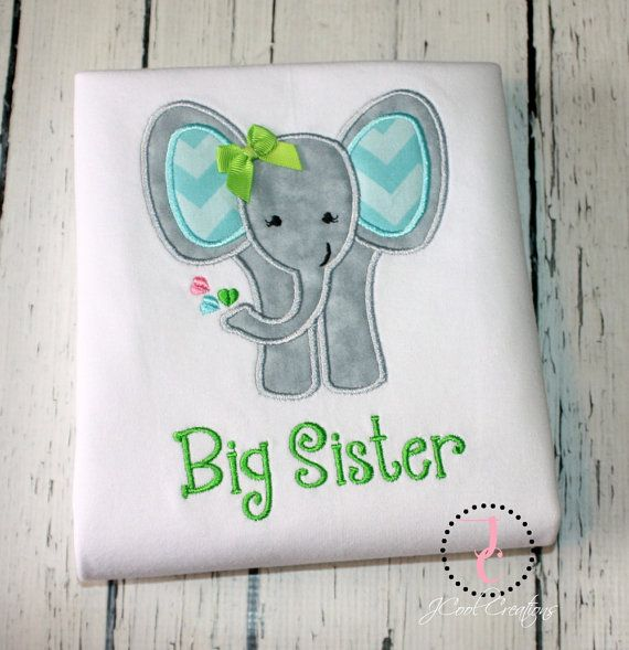 Big Sister Shirt  Big Sister Gift Big Sister by jcoolcreations