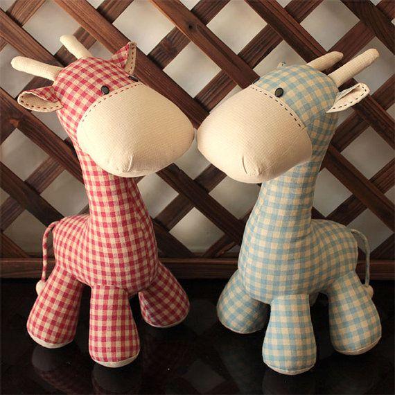 Giraffe - PDF Costura Padrão & Tutorial Softie suffed animais / brinquedo