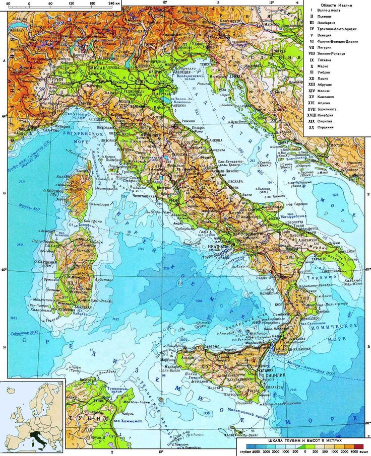 The 25 Best Detailed Map Of Italy Ideas On Pinterest France: Road Map Of Italy Detailed At Infoasik.co
