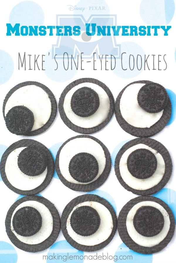 Monsters Inc University Party Food & Snack Ideas www.makinglemonadeblog.com #shop