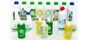 НПО БиоМикроГели создало экологические моющие средства изяблок (видео)