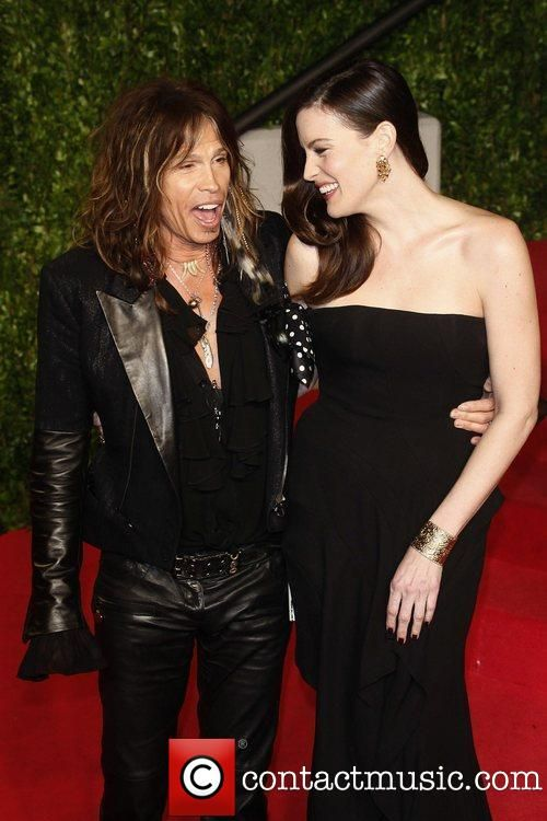 Steven with daughter Liv Tyler