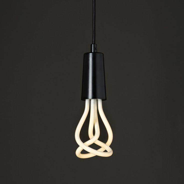 Plumen Ceiling Pendant Light and Bulb Set - Black from lighting direct good website choice