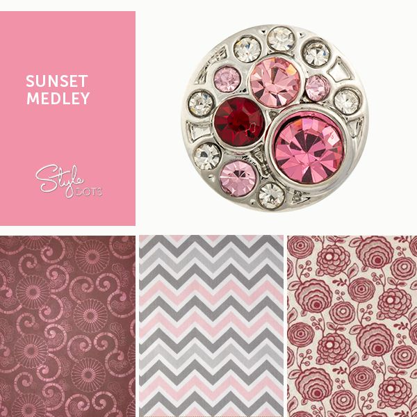 Show off your dainty side with our Sunset Medley Dot.