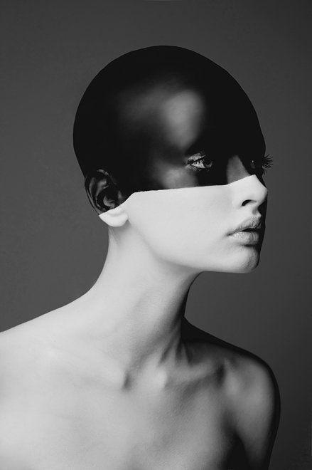 Wiktor FrankoBlack Hole, Inspiration, Black White Photography, Black And White, Street Style, Makeup, Art, Portraits Photography, Wiktor Franko