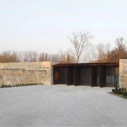 RCR Architectes.  CENTRE ART DANS UN CHATEAU.  Negrepelisse (1)