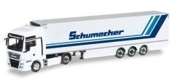 MAN TGX XXL Euro6 Kühlkoffer-Sattelzug Spedition Schumacher
