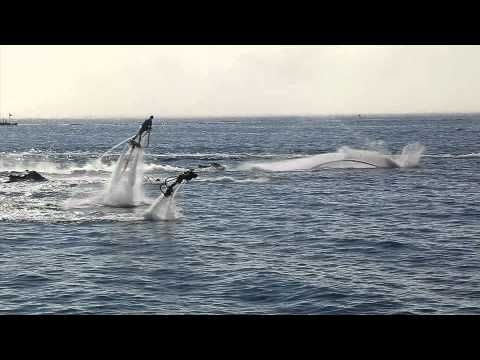 """This is amazing......New official movie """"Flyboard Family"""" by Zapata Racing and Friends  more informations please contact   zapata-racing.com"""