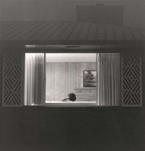 "Robert Adams, Longmont, Colorado from the series ""Summer Nights,"" 1976-82."