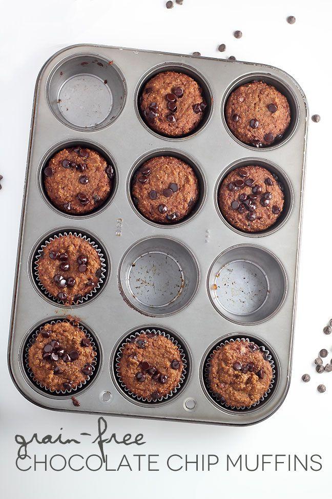 Grain-Free Chocolate Chip Muffins