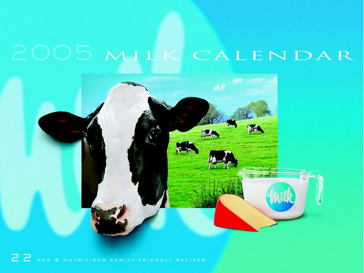 Milk Calendar - 2005